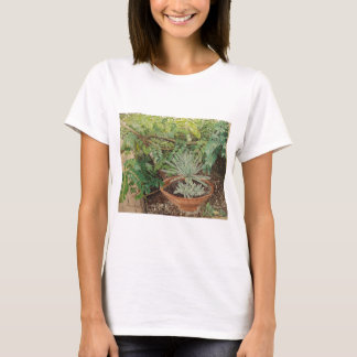 San Jose Mission Garden Painting T-Shirt