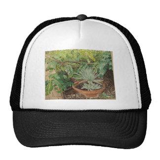 San Jose Mission Garden Painting Trucker Hat
