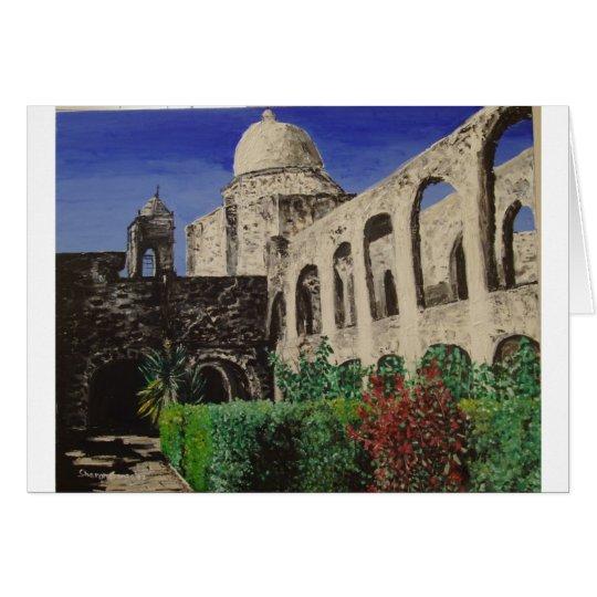 San Jose Mission Painting Card