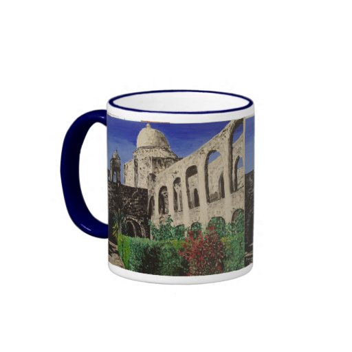 San Jose Mission Painting Coffee Mugs