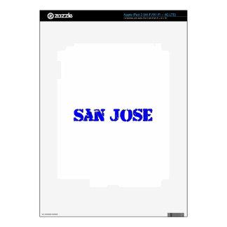 San Jose Pegatina Skin Para iPad 3