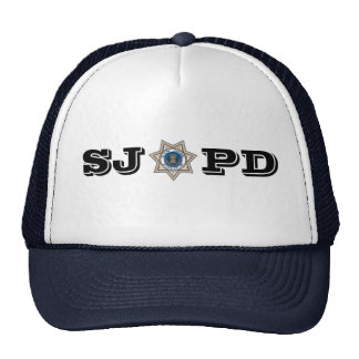 San Jose Police Department Trucker Hat