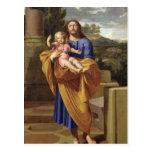 San José que lleva al Jesús infantil, 1665 Postales