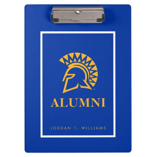 San Jose State Spartans Alumni Clipboard