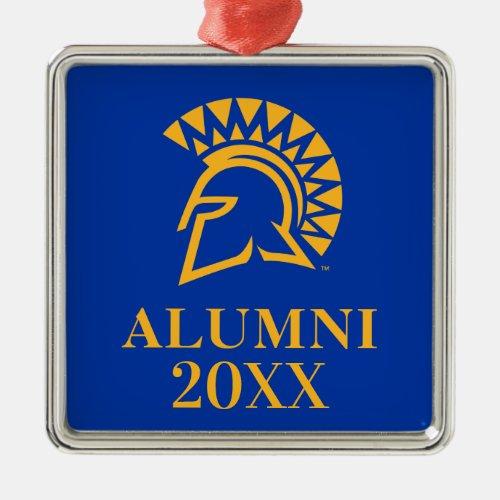San Jose State Spartans Alumni Metal Ornament