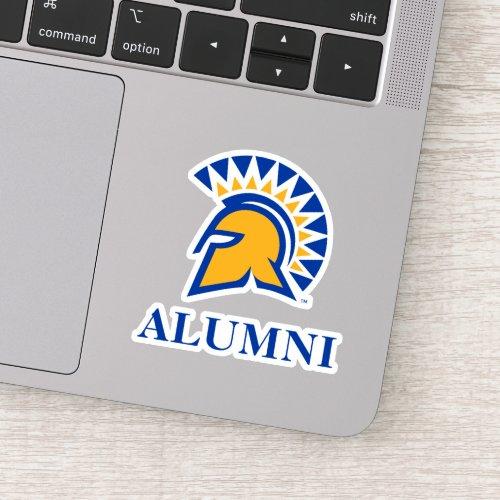 San Jose State Spartans Alumni Sticker