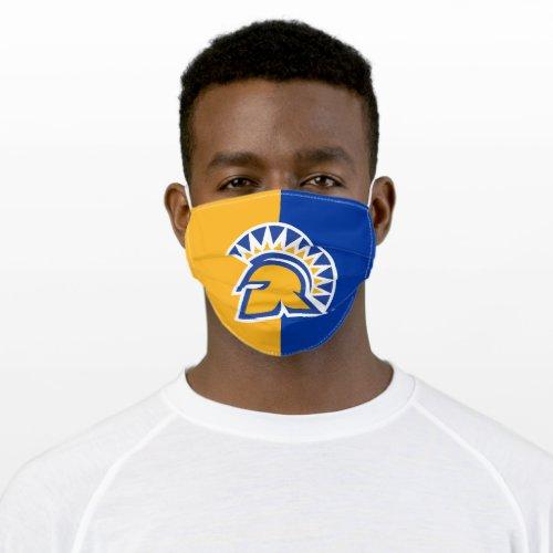San Jose State Spartans Color Block Adult Cloth Face Mask