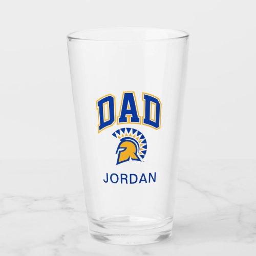 San Jose State Spartans Dad Glass