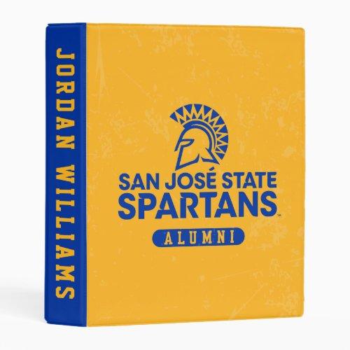 San Jose State Spartans Distressed Mini Binder