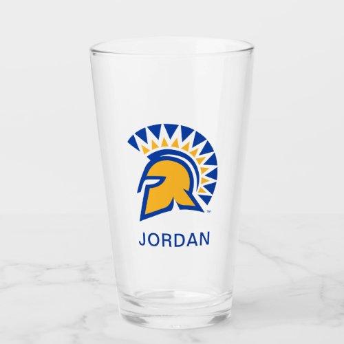 San Jose State Spartans Glass