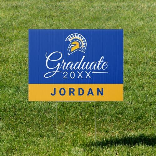 San Jose State Spartans Graduate Sign