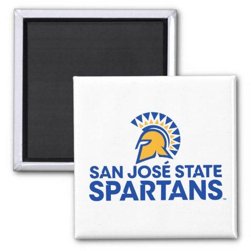 San Jose State Spartans Logo Wordmark Magnet