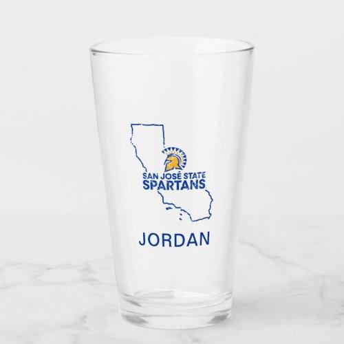 San Jose State Spartans Love Glass