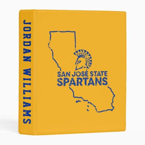 San Jose State Spartans Love Mini Binder