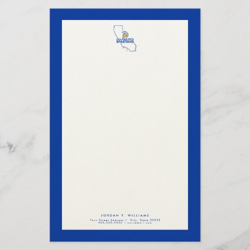 San Jose State Spartans Love Stationery