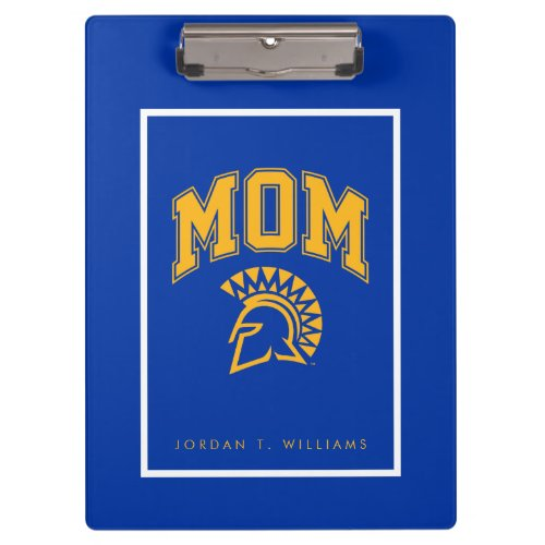 San Jose State Spartans Mom Clipboard