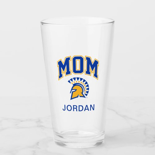 San Jose State Spartans Mom Glass
