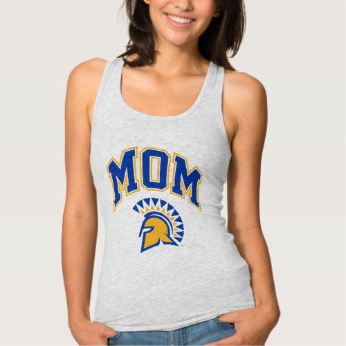 San Jose State Spartans Mom Tank Top