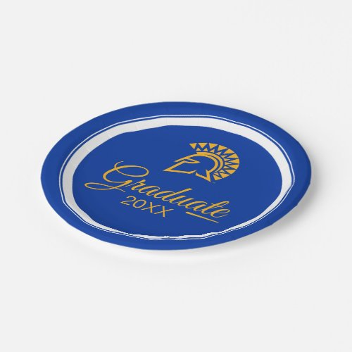San Jose State Spartans Paper Plate