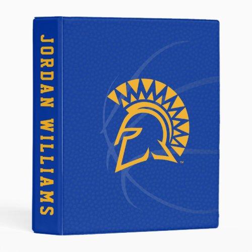 San Jose State Spartans State Basketball Mini Binder
