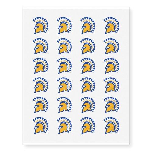 San Jose State Spartans Temporary Tattoos