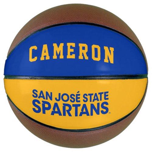 San Jose State Spartans Wordmark Basketball