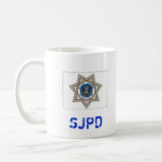 San Jose * taza del Departamento de Policía