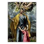 San José y el niño de Cristo, 1597-99 Felicitacion