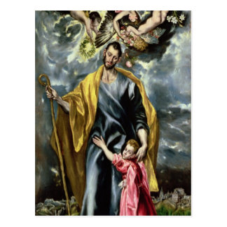 San José y el niño de Cristo, 1597-99 Postales