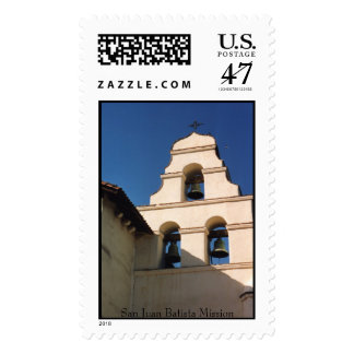 San Juan Batista, San Juan Batista Mission Postage