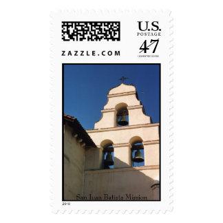 San Juan Batista, San Juan Batista Mission Postage Stamp