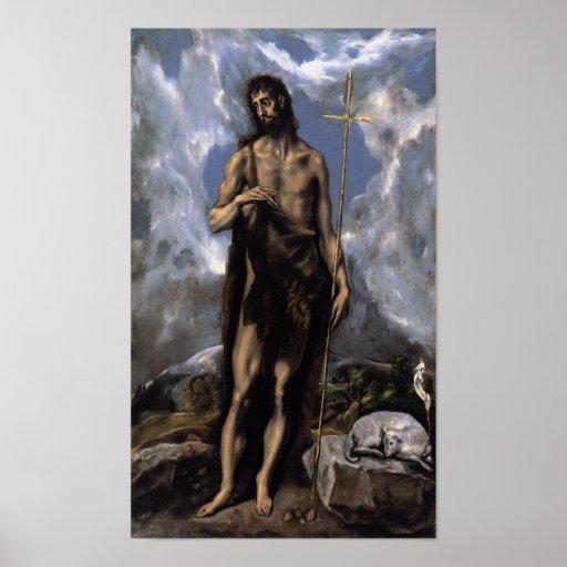 San Juan Bautista de El Greco Impresiones