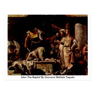 San Juan Bautista de Juan Battista Tiepolo Tarjetas Postales