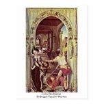 San Juan Bautista de Rogier van der Weyden Tarjeta Postal