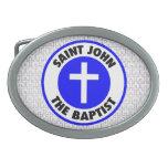 San Juan Bautista Hebillas De Cinturon