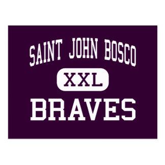 San Juan Bosco - Braves - alto - Bellflower Postal