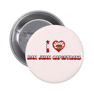 San Juan Capistrano, CA Pinback Button