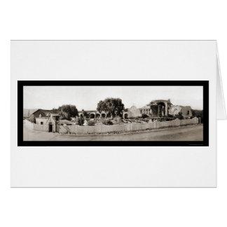 San Juan Capistrano CA Photo 1926 Card