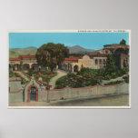 San Juan Capistrano, CAView de la misión Póster