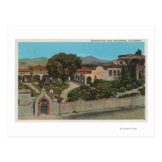 San Juan Capistrano, CAView of the Mission Postcard