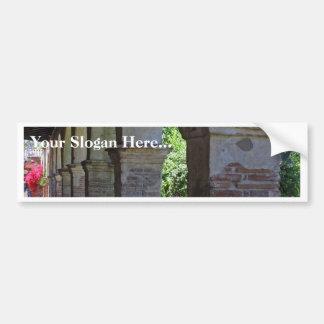 San Juan Capistrano Mission In Orange County Car Bumper Sticker