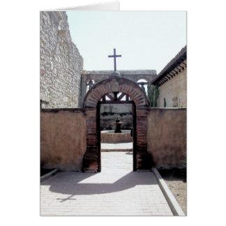 San Juan Capistrano's Mission Card
