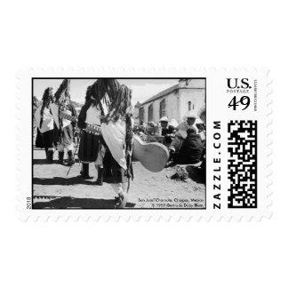 San Juan Chamula, Chiapas, Mexico Postage Stamp