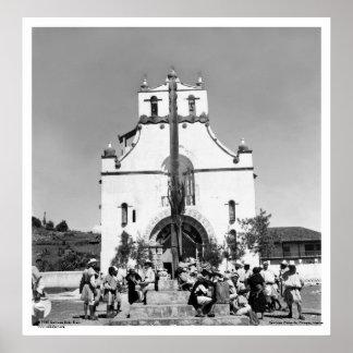 San Juan Chamula, Chiapas, México Póster