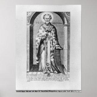 San Juan Chrysostome, siglo XVII Póster