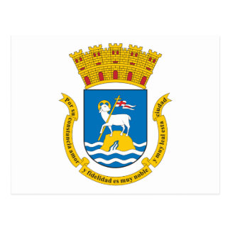 San Juan Coat Of Arms Postcard