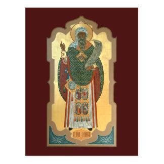 San Juan de la tarjeta del rezo de Damasco Tarjetas Postales