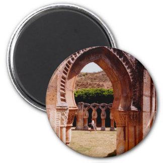 San Juan de los Reyes 2 Inch Round Magnet