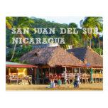San Juan del Sur, postal de la playa de Nicaragua