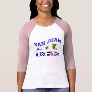 San Juan - deletreo marítimo de la bandera Playera
